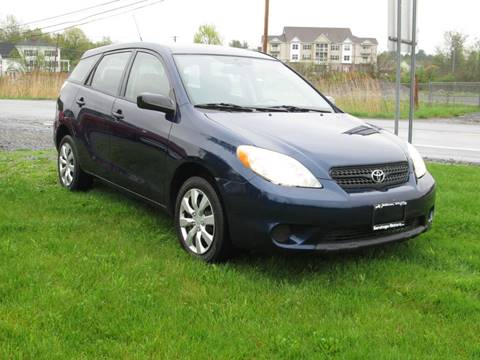 2005 Toyota Matrix for sale at Saratoga Motors in Gansevoort NY