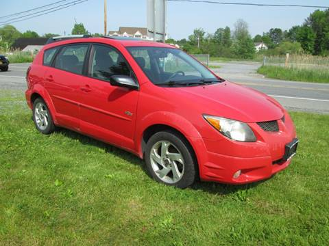 2004 Pontiac Vibe for sale at Saratoga Motors in Gansevoort NY