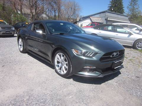 2015 Ford Mustang for sale at Saratoga Motors in Gansevoort NY