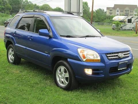 2007 Kia Sportage for sale at Saratoga Motors in Gansevoort NY