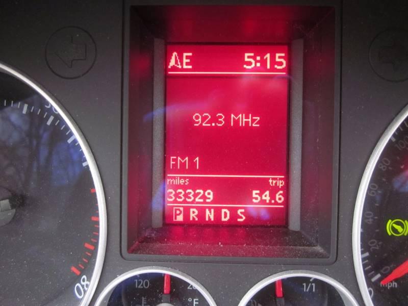 2007 Volkswagen Gti Fahrenheit 2dr Hatchback In Gansevoort