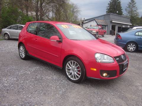 2007 Volkswagen GTI for sale at Saratoga Motors in Gansevoort NY