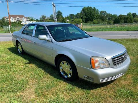 2001 Cadillac DeVille for sale at Saratoga Motors in Gansevoort NY