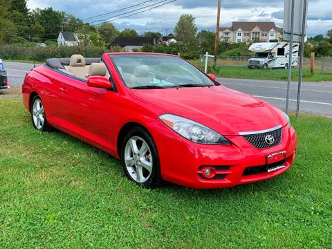 2008 Toyota Camry Solara for sale at Saratoga Motors in Gansevoort NY