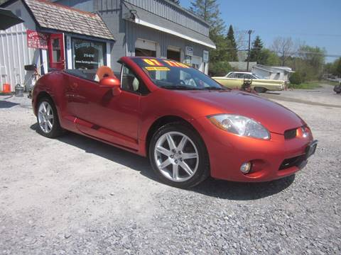 2007 Mitsubishi Eclipse Spyder for sale at Saratoga Motors in Gansevoort NY