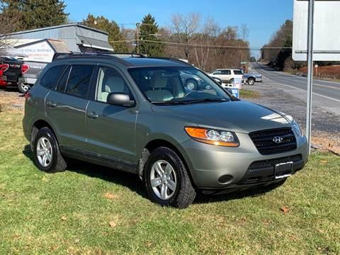 2009 Hyundai Santa Fe for sale at Saratoga Motors in Gansevoort NY