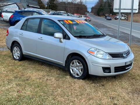 2010 Nissan Versa for sale at Saratoga Motors in Gansevoort NY