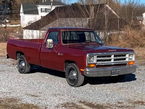 1986 Dodge RAM 250 for sale at Saratoga Motors in Gansevoort NY
