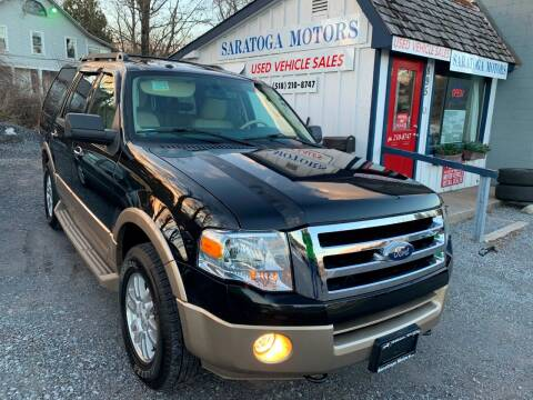 2012 Ford Expedition for sale at Saratoga Motors in Gansevoort NY