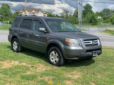 2008 Honda Pilot for sale at Saratoga Motors in Gansevoort NY