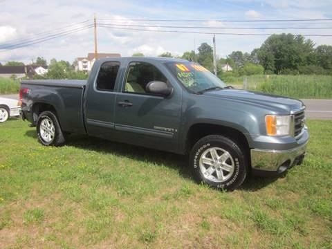 2007 GMC Sierra 1500 for sale at Saratoga Motors in Gansevoort NY