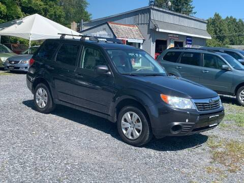 2009 Subaru Forester for sale at Saratoga Motors in Gansevoort NY