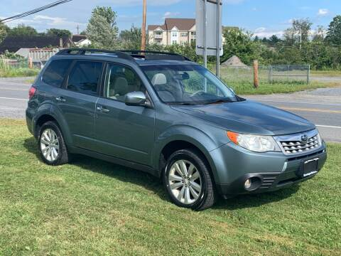 2011 Subaru Forester for sale at Saratoga Motors in Gansevoort NY