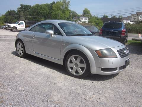 2001 Audi TT for sale at Saratoga Motors in Gansevoort NY