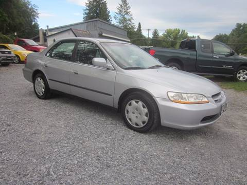 2000 Honda Accord for sale at Saratoga Motors in Gansevoort NY