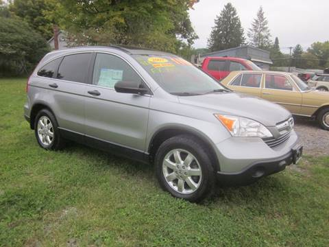 2007 Honda CR-V for sale at Saratoga Motors in Gansevoort NY
