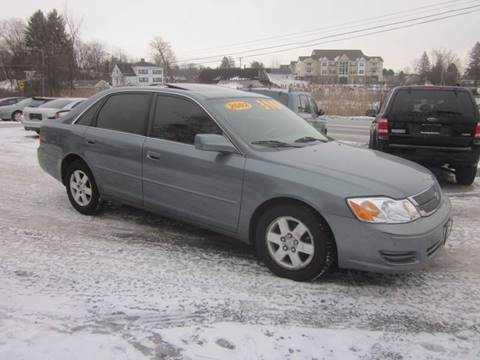 2002 Toyota Avalon for sale at Saratoga Motors in Gansevoort NY
