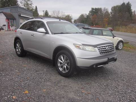 2007 Infiniti FX35 for sale at Saratoga Motors in Gansevoort NY