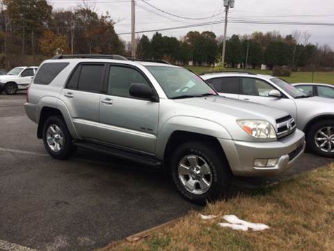2005 Toyota 4Runner for sale at Saratoga Motors in Gansevoort NY