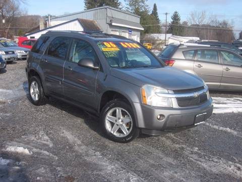 2005 Chevrolet Equinox for sale at Saratoga Motors in Gansevoort NY