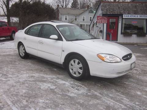 2003 Ford Taurus for sale at Saratoga Motors in Gansevoort NY