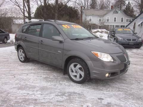 2005 Pontiac Vibe for sale at Saratoga Motors in Gansevoort NY