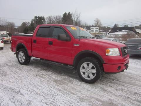 2006 Ford F-150 for sale at Saratoga Motors in Gansevoort NY