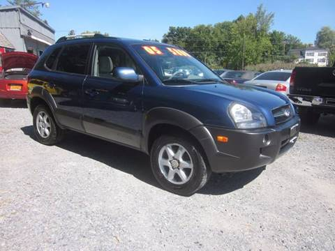 2005 Hyundai Tucson for sale at Saratoga Motors in Gansevoort NY