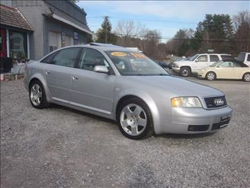 2004 Audi A6 for sale at Saratoga Motors in Gansevoort NY