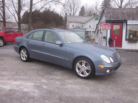 2006 Mercedes-Benz E-Class for sale at Saratoga Motors in Gansevoort NY