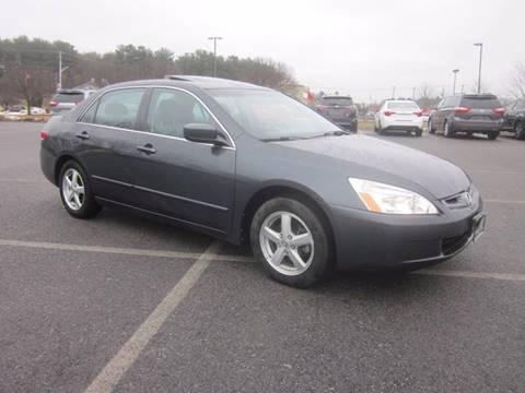 2004 Honda Accord for sale at Saratoga Motors in Gansevoort NY