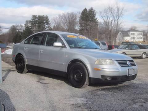 2002 Volkswagen Passat for sale at Saratoga Motors in Gansevoort NY