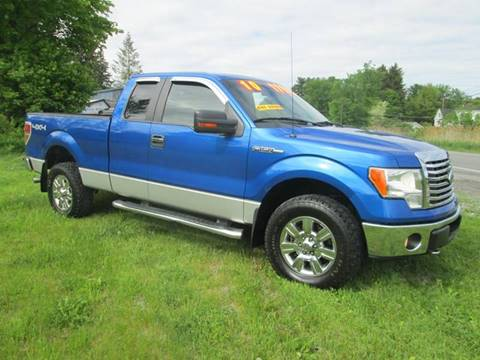 2010 Ford F-150 for sale at Saratoga Motors in Gansevoort NY