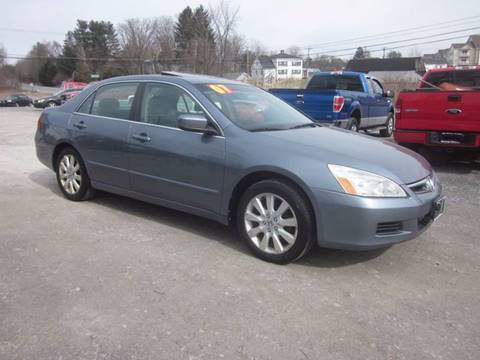 2007 Honda Accord for sale at Saratoga Motors in Gansevoort NY