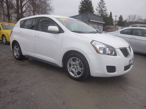 2009 Pontiac Vibe for sale at Saratoga Motors in Gansevoort NY