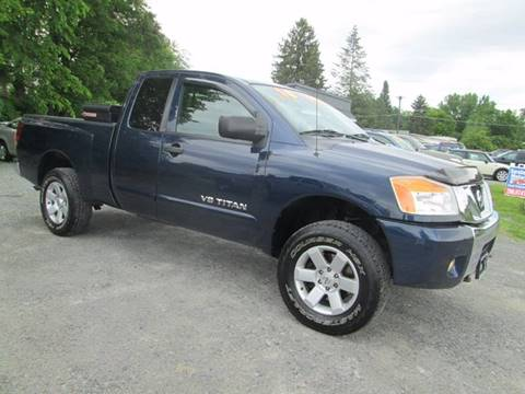 2010 Nissan Titan for sale at Saratoga Motors in Gansevoort NY