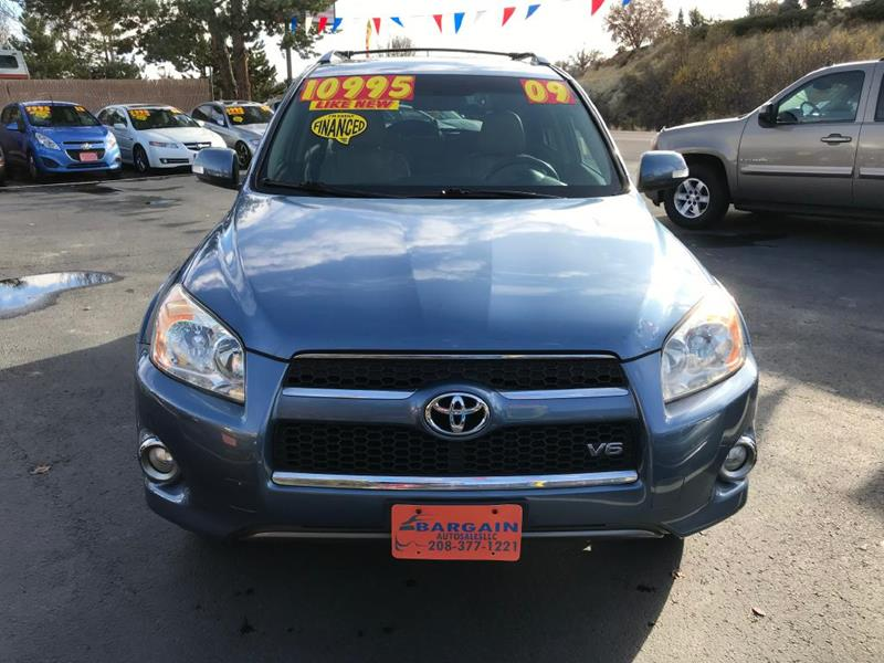 2009 Toyota Rav4 Limited 4dr SUV V6 In Garden City ID Bargain
