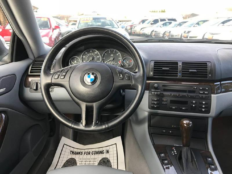 2004 Bmw 3 Series 330Ci 2dr Coupe In Garden City ID - Bargain Auto ...