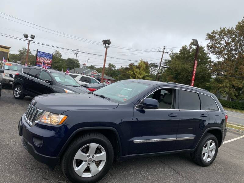2012 Jeep Grand Cherokee for sale at Primary Motors Inc in Commack NY