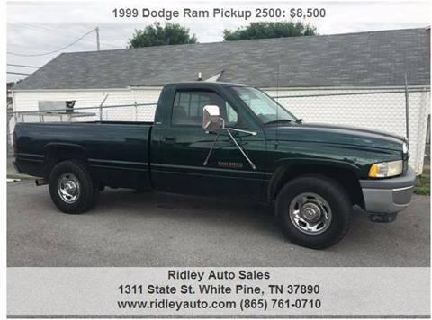 1999 Dodge Ram Pickup 2500 For Sale  Carsforsalecom