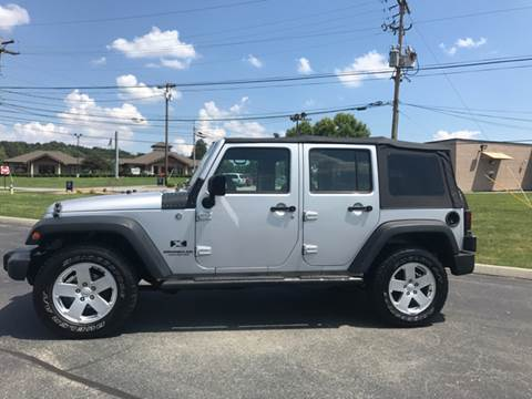 2008 Jeep Wrangler Unlimited for sale in White Pine, TN