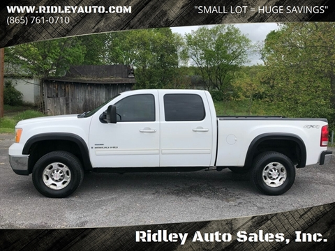2007 GMC Sierra 2500HD for sale in White Pine, TN