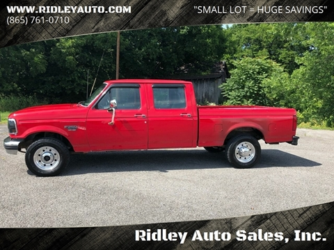 Ford F 250 For Sale In White Pine Tn Ridley Auto Sales Inc