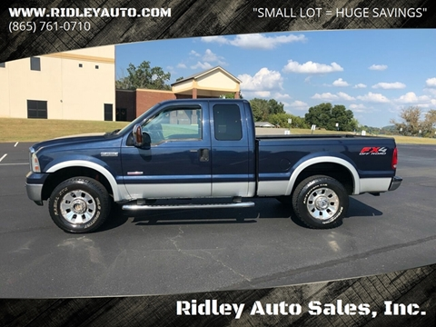 2006 Ford F-250 Super Duty for sale in White Pine, TN