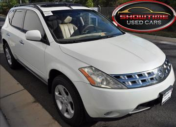2005 Nissan Murano for sale in Chantilly, VA