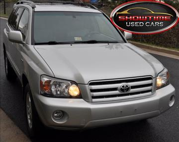 2006 Toyota Highlander for sale in Chantilly, VA