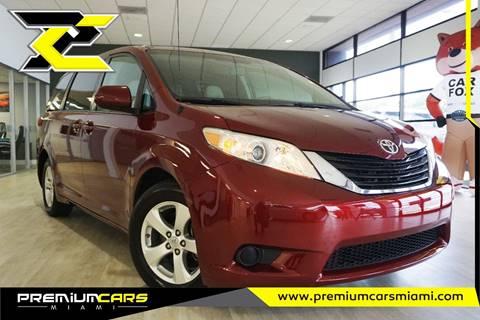 2012 Toyota Sienna for sale in Miami, FL