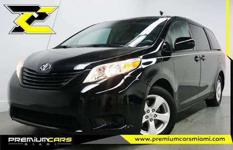 2011 Toyota Sienna for sale in Miami, FL