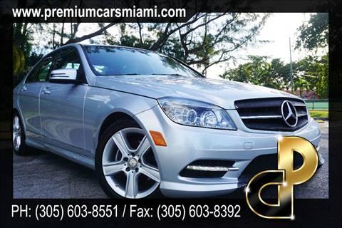 2011 Mercedes-Benz C-Class for sale in -Miami, FL