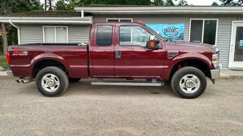 2010 Ford F-250 Super Duty for sale at Winwood Auto Sales in Farwell MI